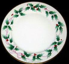 Mikasa Christmas Holly * CHOP PLATE / ROUND PLATTER * Excellent! - $12.86