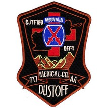 US Army 717th Aviation Medical Co 10th Mountain Div Air Ambulance Dustof... - $11.87