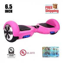Carnation Pink Hoverboard Two Wheel Balance Scooter UL 2272 - $229.00
