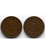 M27 - 1935 - 5 - Five Centavos Mexico - €2,64 EUR