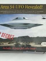 1994 Testors - Area S4 UFO Revealed 1:48 Scale Model Complete New - $215.00
