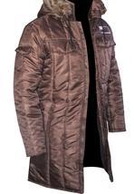 Harrison Ford Star Wars Han Solo Windbreaker Brown Parachute Parka Jacket Coat image 2