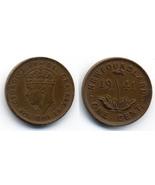 M48 - 1941 Newfoundland Canadian Penny 1 Cent King George VI - $38,17 MXN