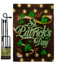 Lightful St. Patrick's Day Burlap - Impressions Decorative Metal Garden ... - $33.97