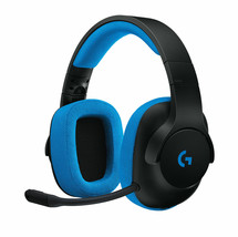 Logitech G233 Prodigy Blue/Black Headband Headsets for Multi-Platform - $49.50