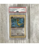 PSA 10 1st Edition 2000 Pokemon Team Rocket Dark Dragonite NO HOLO MINT - $1,781.01