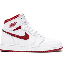 Nike Men's Air Jordan 1 Retro High OG White/VarsityRed 555088-103 - $159.95