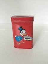 Extremely Rare! Walt Disney Scrooge McDuck Gold Nuggets Old Metal Tin Pi... - $151.79