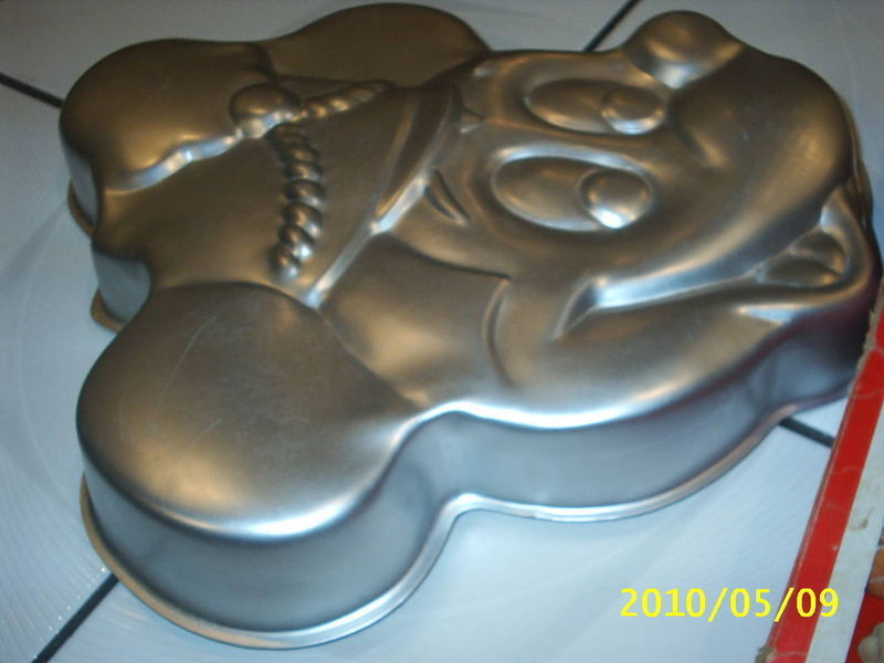 Vintage Wilton Mickey Mouse CAKE Pan~Band Leader #515-302 & Original Box !