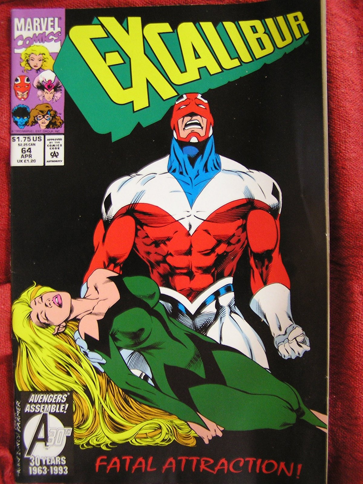 Excalibur Vol 1 No 64 [Paperback] [Jan 01, 1900] Marvel Comics