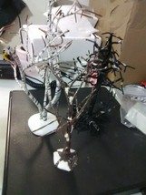 3 Dept 56 Bare Branch trees - Birch,Snow Tinge and Spooky - $6.39