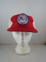 Fresno State Bulldogs Hat (VTG) - Patched Trucker hat by AMS - Adult Snapback - $49.00