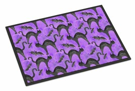Caroline's Treasures Watecolor Halloween Black Cats on Purple Indoor Or ... - €34,26 EUR