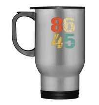 Grunge 86 45 Retro 70s Vintage Impeach Trump 8645 Travel Mug - $21.99