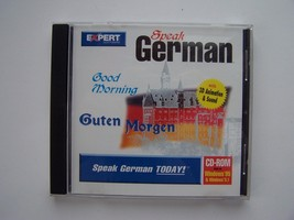 Speak German Expert Software CD-ROM - $5.83