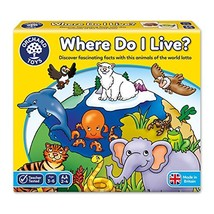 Orchard Toys Where Do I Live Game?, Children's Game, Multi, One Size - $23.30