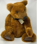 Gund Bears Signature Collection ROCKAFELLA Signed RITA SWEDLIN RAIFFE 16... - $94.95