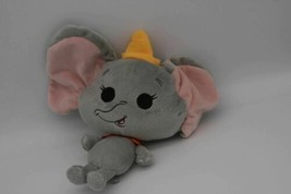 "Disney Just Play The Flying Elephant Circus DUMBO Bobble Head 9"" Plush Soft  - $7.43"
