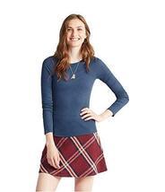 Aeropostale Womens Ribbed LS Basic T-Shirt 037 XS - $9.49