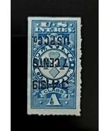 1918 7c Class A Playing Cards U.S. Internal Revenue, Invert Surch. RF13a... - $68.74