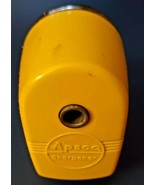 Vintage Yellow Black Pencil Sharpener Apsco Mid Century Berol Products  - $19.79