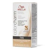 Wella Color Charm Permanent Liquid Haircolor Intense Medium Blonde 7NN    - $14.95+