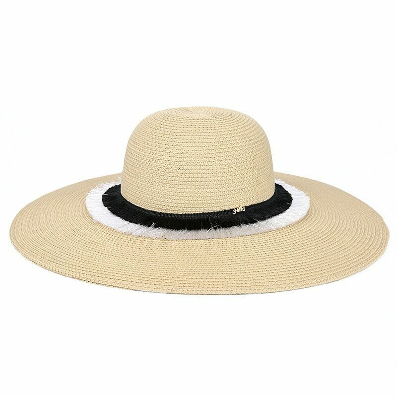 Sedancasesa® Sun Hats For Women Sombreros Straw Summer Floppy Visor Caps image 5