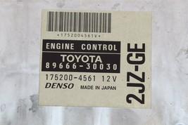 Toyota 2JZ-GE ECM ECU PCM Engine Control Module Computer 89661-30030 image 2