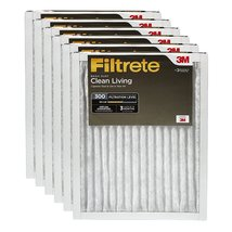 Filtrete Clean Living Basic Dust AC Furnace Air Filter, MPR 300, 16 x 25... - €69,34 EUR