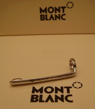 MontBlanc pen replacement spare parts Pocket Clip Mont Blanc New Platinum - $30.33