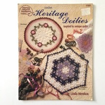 Heritage Doilies Antique Quilt Inspired American School of Needlework Cr... - $5.93