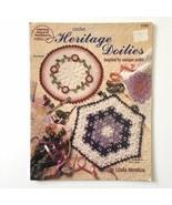 Heritage Doilies Antique Quilt Inspired American School of Needlework Cr... - $5.93