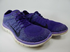 Nike Free Flyknit 4.0 Taille 8 M (B) Ue 39 Course Femme Chaussures Violet