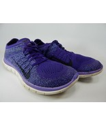 Nike Free Flyknit 4.0 Taille 8 M (B) Ue 39 Course Femme Chaussures Violet - $62.96