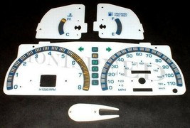 APC 95 96 97 Toyota Tacoma Automatic White Face Glow Through Gauges MPH ... - $15.83