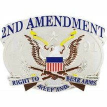 United States American 2nd Amendment USA Belt Buckle - $18.76