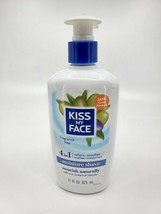 Kiss My Face 4 in 1 Moisture Shave 11 oz Fragrance Free Vegan New - $18.65