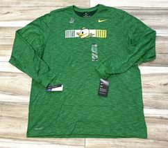 NWT Oregon Ducks Nike graphic puddles mascot LS tee mens M/medium dri-fit - $29.99
