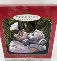 Vintage Hallmark Christmas Ornament - Lunar Rover Vehicle Journeys Into Space - $14.80