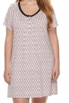 NWT Croft and Barrow Nightgown 3x Rayon Lace - $23.36