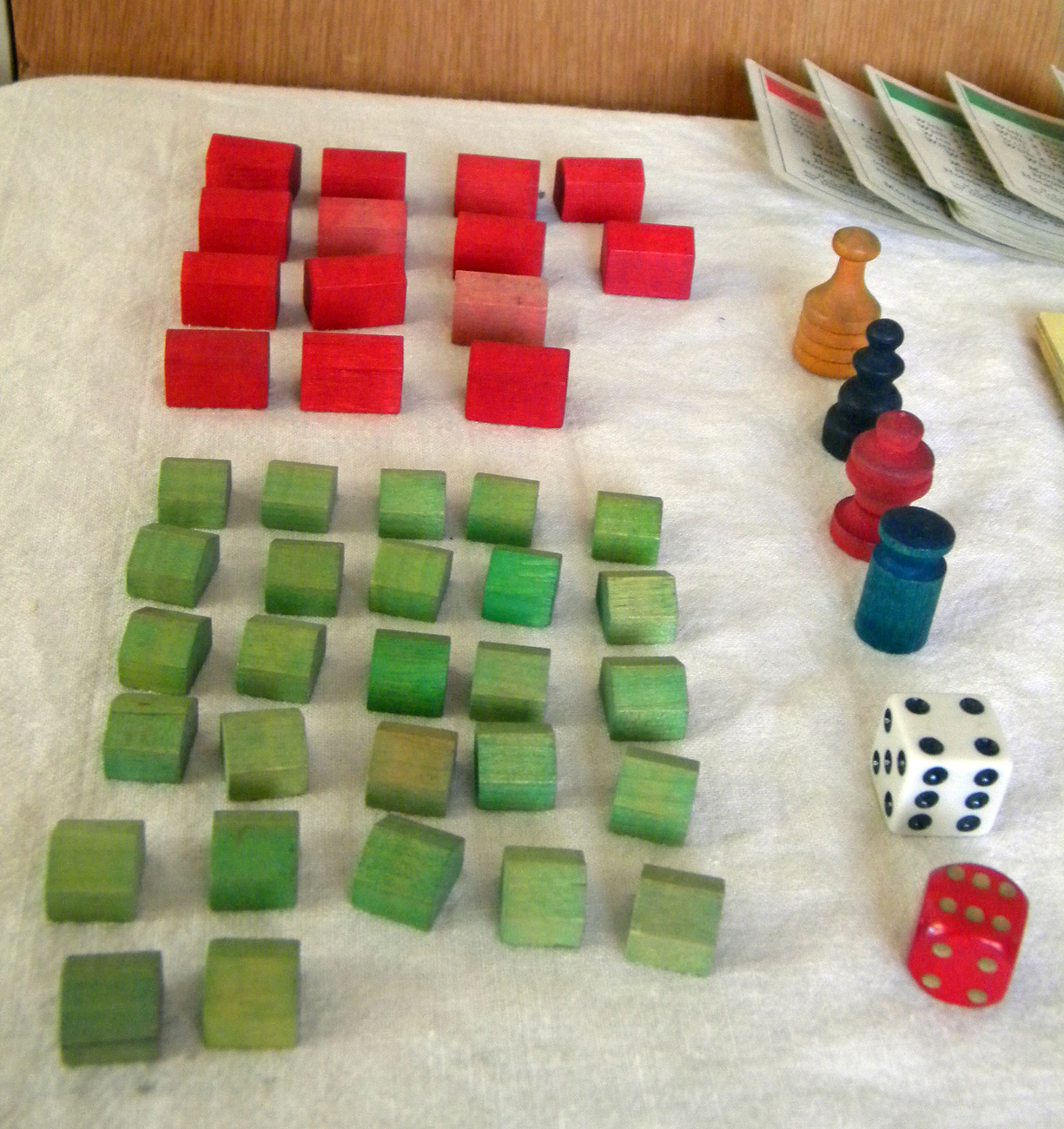 Vintage Monopoly Game Pieces Wooden Hotels And 50 Similar Items