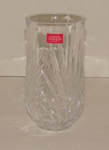 "CRISTAL D'ARQUES Paris CRYSTAL VASE 24% LEAD 6"" High - $16.00"