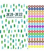 2021 - 2022 Academic Planner Calendar - School College Weekly (Spiral Bo... - $9.89