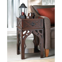 Ornate Moroccan Style Brown Table - $159.99