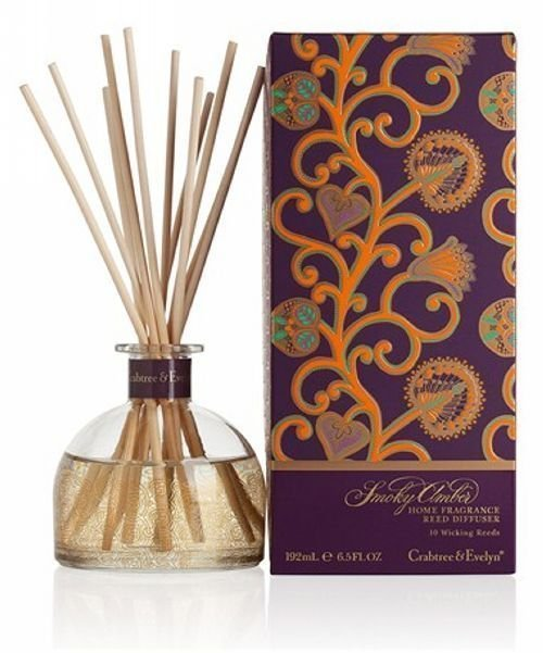 Crabtree & Evelyn Smoky Amber Home Fragrance Scented Diffuser Air Refresher - $45.00