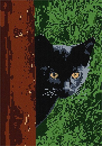 Primary image for pepita Cat Around Tree Needlepoint Kit