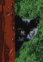 pepita Cat Around Tree Needlepoint Kit - $95.00