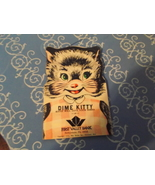 """Dime Saver First Valley Bank """" Dime Kitty"""" , copyright 1954 - $15.00"""