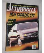 Automobile Magazine May 1991, Cadillac STS, Acura Vigor, Audi 100 2.8E, ... - $9.01