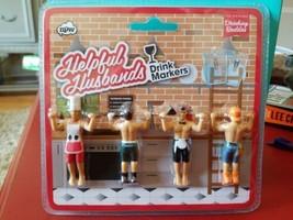 NPW-The Original Drinking Buddies-Helpful Husbands-Drink Markers-Bachelo... - $4.70